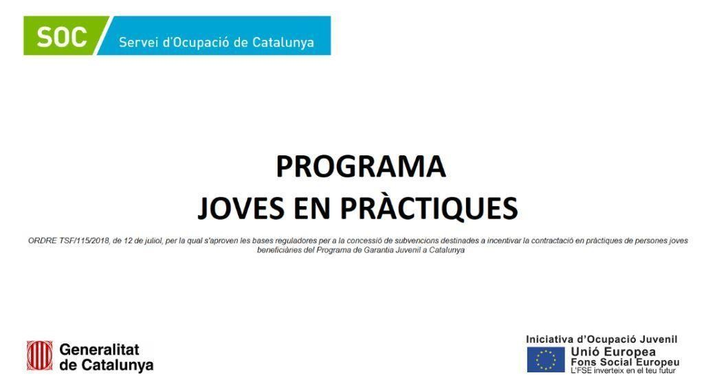 Programa Joves en Pràctiques